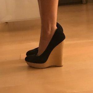 Shoes - Ysl wedge sz 36.5